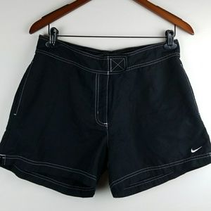 Womans NIKE swim shorts size LARGE
